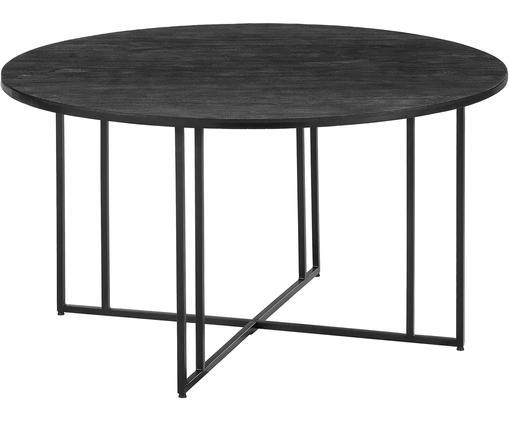 Runder Esstisch mit Mangoholz