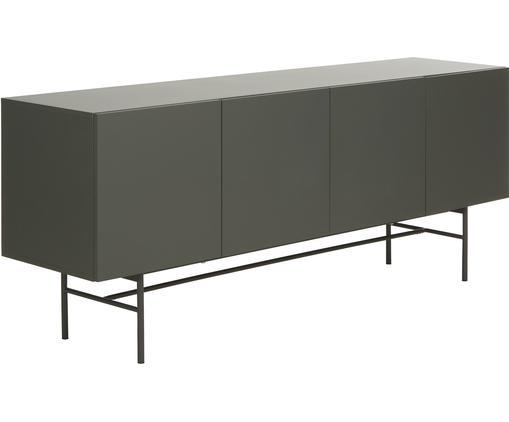 Modernes Sideboard Anders mit Türen in Grau