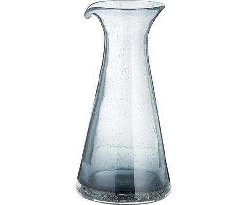 Mundgeblasene Karaffe Bubble mit dekorativen Luftbläschen, 800 ml