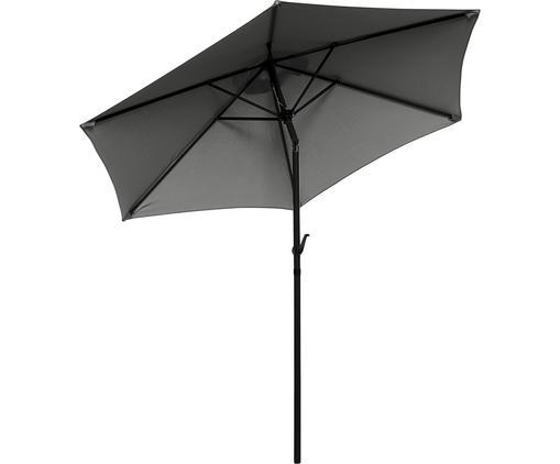 Sonnenschirm Siesta in Schwarz mit Kurbel