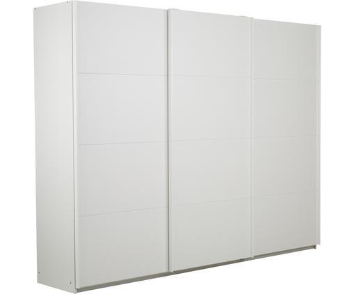 Kleiderschrank Mia mit 3 Schiebetüren in Weiß