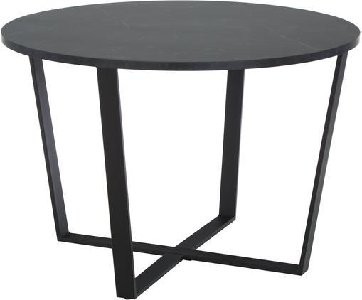 Runder Esstisch Amble mit Tischplatte in Marmor-Optik