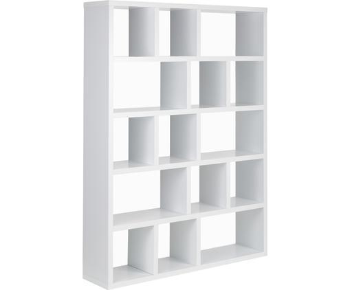 Großes Bücherregal Portlyn in Weiß