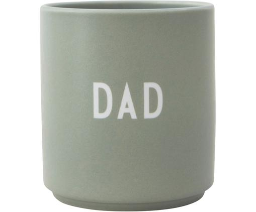 Design Becher Favourite DAD/LOVE  mit unterschiedlichen Schriftzug auf Vorder- & Rückseite