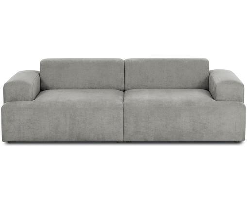 Cord-Sofa Melva (3-Sitzer) in Grau