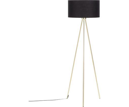 Tripod Stehlampe Cella mit Stoffschirm