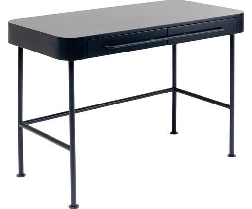 Schreibtisch Montieri in Dunkelgrau