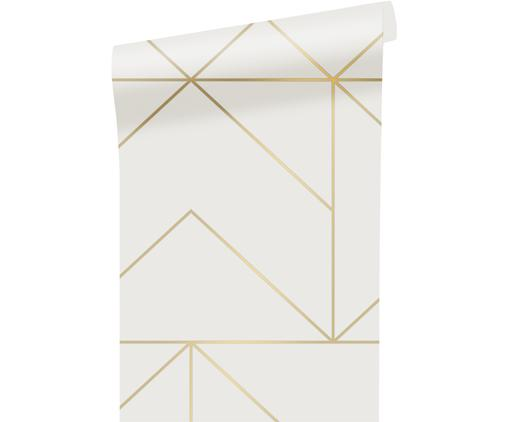 Tapete Gold Geometric Art