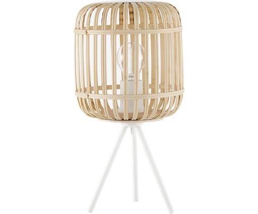 Tripod Tischlampe Adam aus Bambus