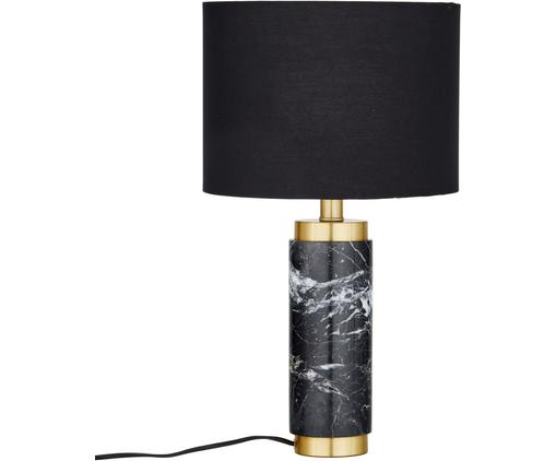 Glam-Tischlampe Miranda mit Marmorfuß