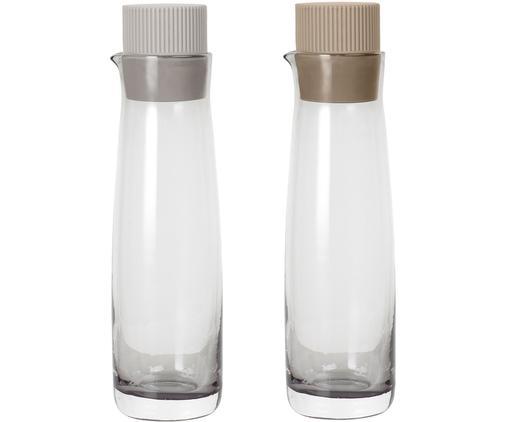 Essig- und Öl-Spender Olvigo aus Glas, 2er-Set