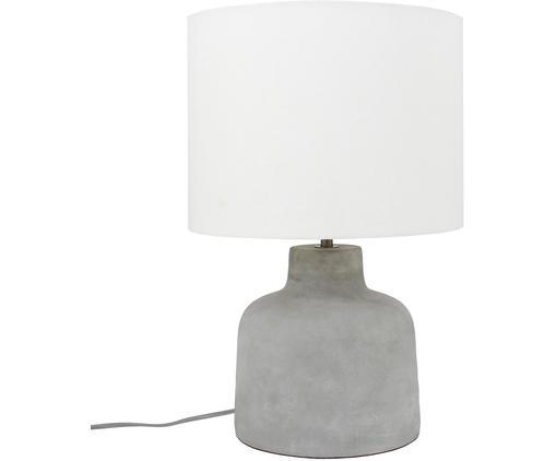 Moderne Tischlampe Ike mit Betonfuß
