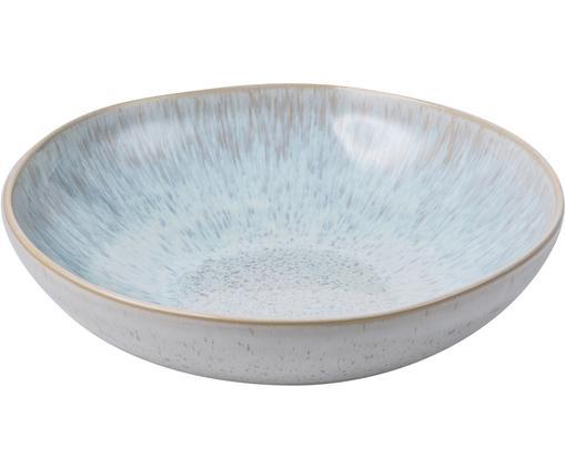 Handbemalte Servierschale Areia mit reaktiver Glasur, Ø 22 cm