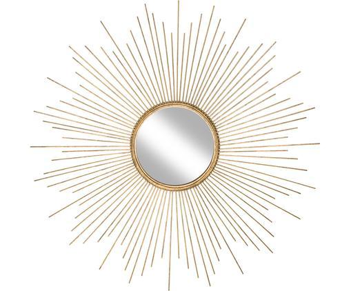 Dekospiegel Ella mit goldenem Metallrahmen