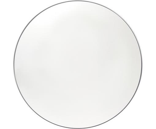 Runder Wandspiegel Ivy mit weißem Rahmen