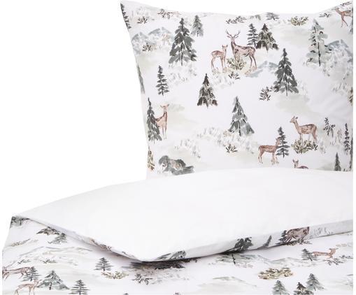 Designer Perkal-Bettwäsche Forest aus Bio-Baumwolle von Candice Gray