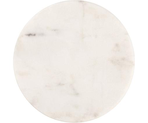 Marmor-Untersetzer Guda in Weiß, 4 Stück