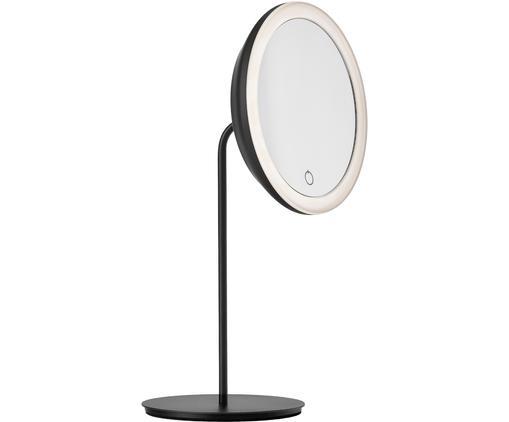 Runder Kosmetikspiegel Maguna mit Vergrößerung und Beleuchtung