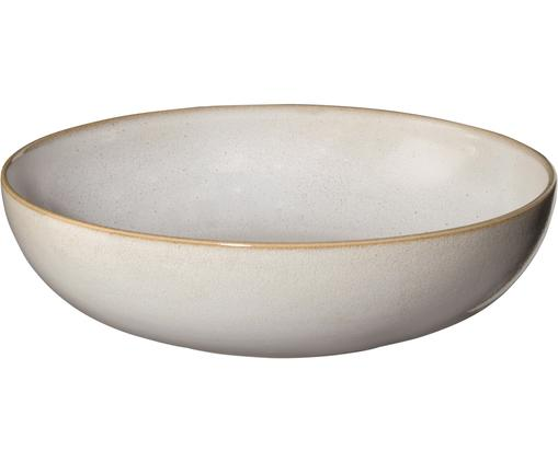 Suppenteller Saisons aus Steingut in Beige Ø 21 cm, 6 Stück