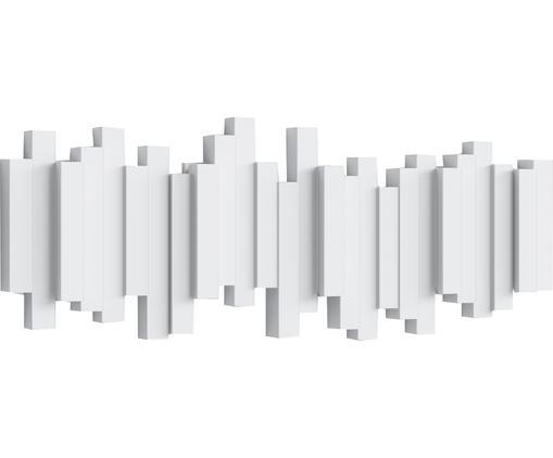 Garderobenhaken Sticks mit Stäbchendesign in Weiß