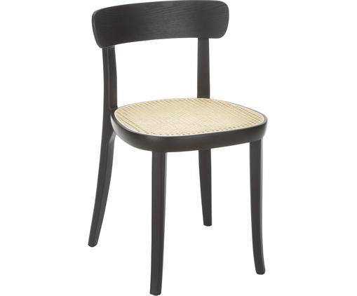 Holzstühle Richie mit Wiener Geflecht, 2 Stück