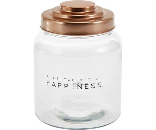 Aufbewahrungsglas Happiness, Ø 16 x H 21 cm