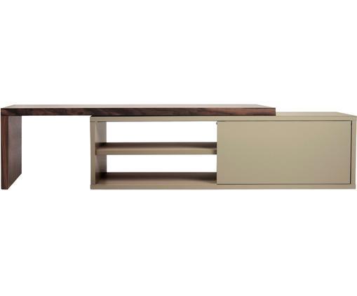 Ausziehbares TV-Lowboard Lieke mit Schiebetür
