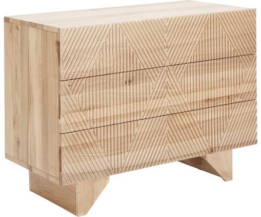 Schubladenkommode Louis aus massivem Eschenholz