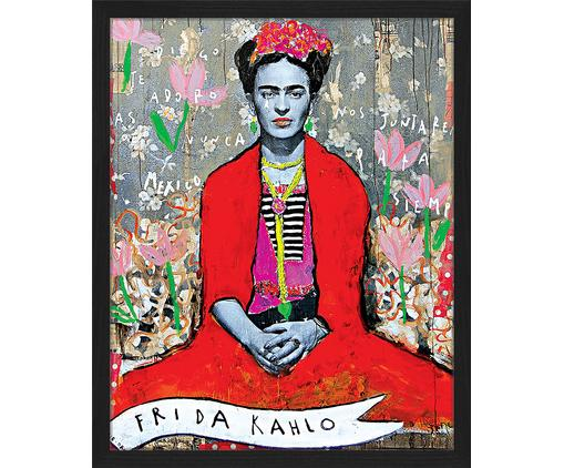 Gerahmter Digitaldruck Frida Kahlo