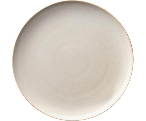 Frühstücksteller Saisons aus Steingut in Beige, 6 Stück
