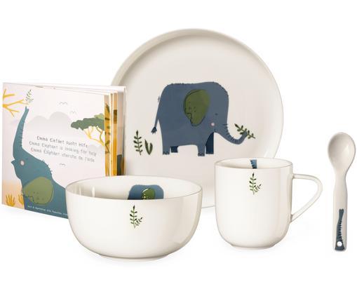 Geschirr-Set Emma Elefant, 5-tlg.