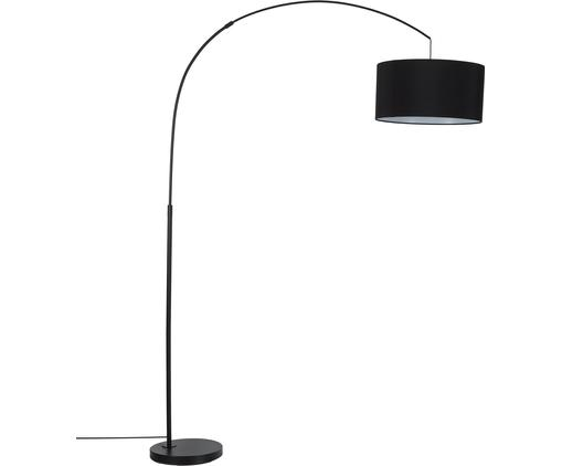 Große Bogenlampe Niels in Schwarz