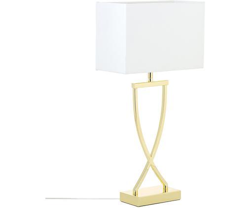 Große Klassische Tischlampe Vanessa in Gold