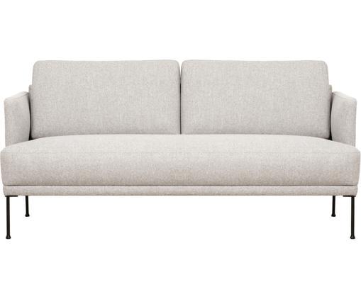 Sofa Fluente (2-Sitzer) in Beige mit Metall-Füßen