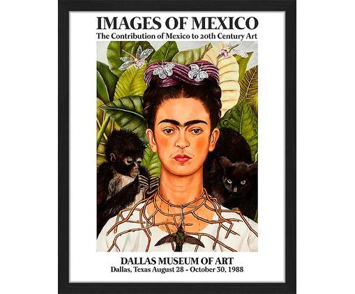 Gerahmter Digitaldruck Frida In The Museum