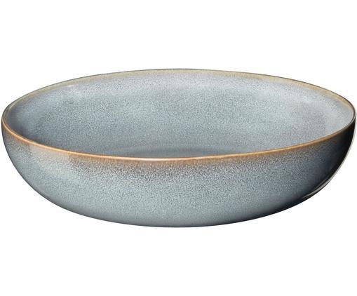 Suppenteller Saisons aus Steingut in Blau Ø 21 cm, 6 Stück