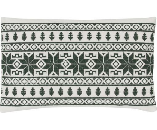 Bestickte Kissenhülle Orkney mit Norweger-Muster