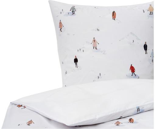 Designer Perkal-Bettwäsche Ice Skater aus Bio-Baumwolle von Candice Gray