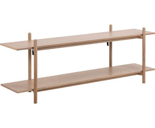 Lowboard Asbaek aus Holz mit 2 Ablageflächen