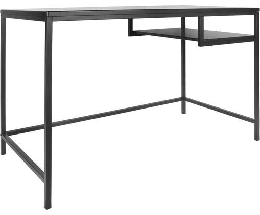 Schreibtisch Fushion in Schwarz