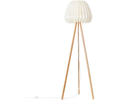 Design Tripod Stehlampe Inna aus Bambus