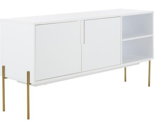 Sideboard Jesper mit Türen in Weiß