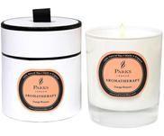 Świeca zapachowa Aromatherapy (kwiat pomarańczy)