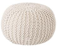 Puf de punto artesanal Dori