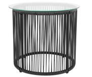 Odkládací stolek se skleněnou deskou Bahia