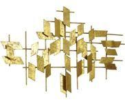 Nástěnná dekorace XL z kovu Tara