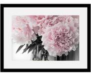 Stampa digitale incorniciata Pink Flowers