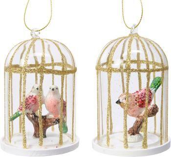 Kerstboomhangersset Cages (2-delig)