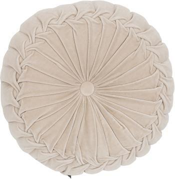 Poduszka okrągła z aksamitu z wkładem Kanan