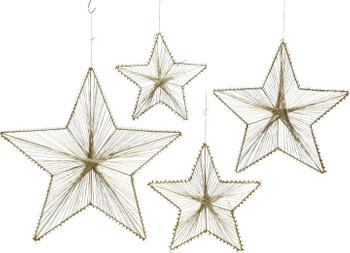 Decoratieve hangers Sille, 4 stuks